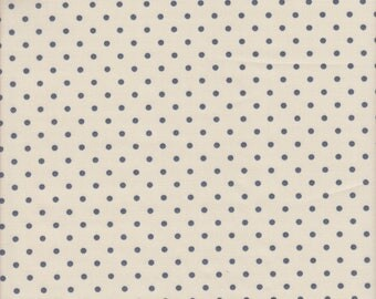 Art Gallery Amy Sinibaldi Les Petits Dots in Creme - Half Yard