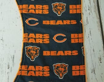 50% OFF Chicago Bears burp cloth