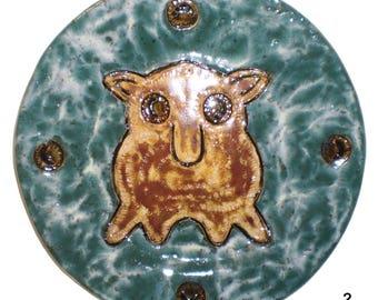 Dumbo Octopus Ceramic Plates