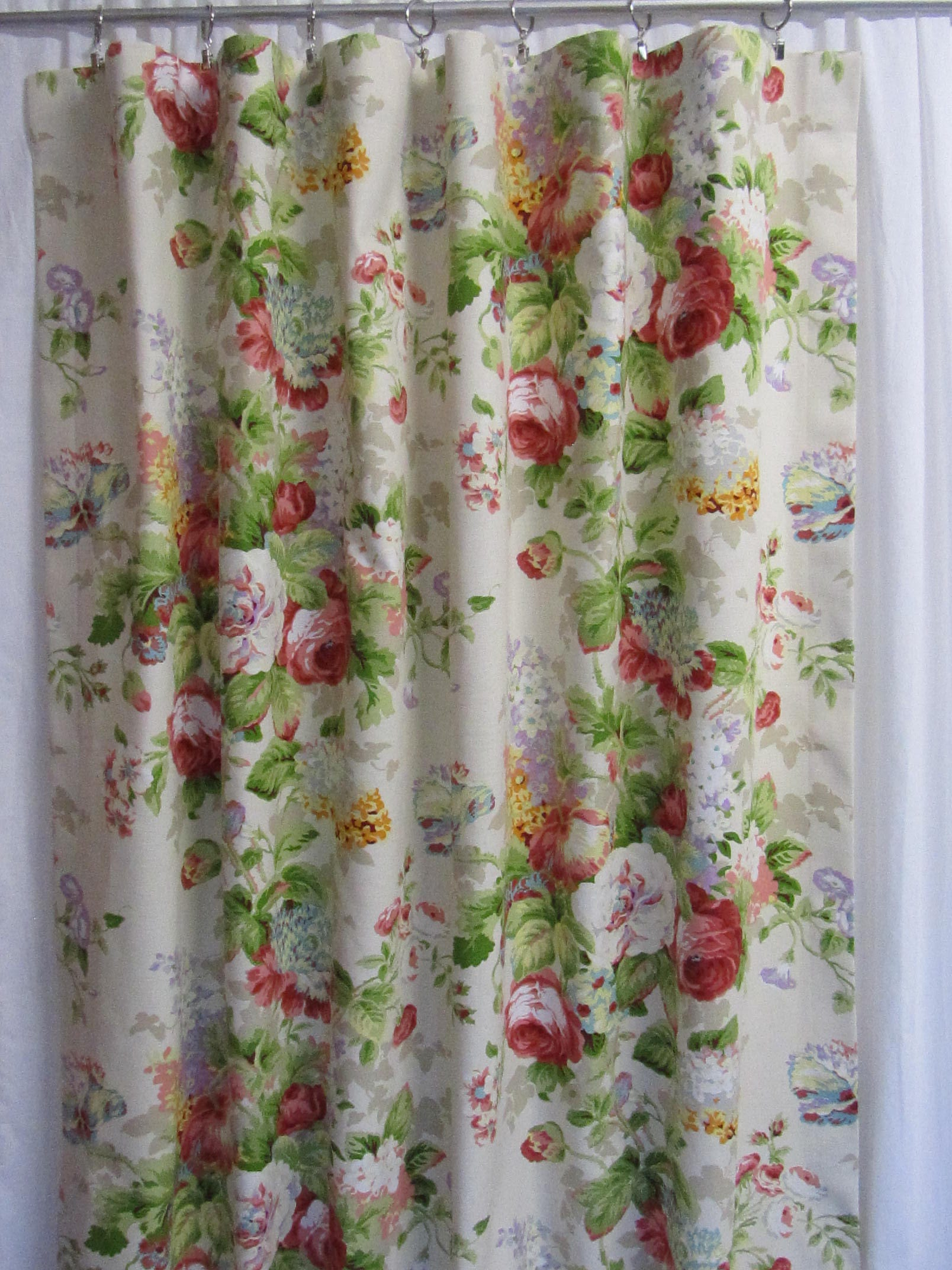 Shabby chic curtain poles images beautiful shabby - Shabby chic curtain poles ...