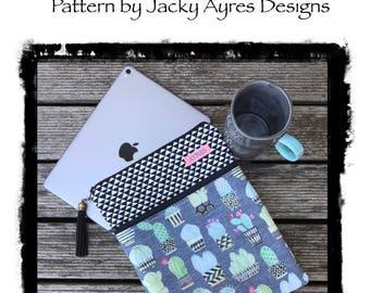 Pattern iPad/Tablet Sleeve - Paper Pattern