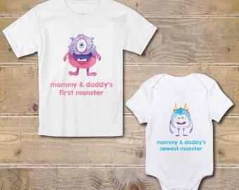 Big Sister Little Brother Shirts, New Big Sister, Baby Shower Gift, Silbling Shirt, Deer, New Big Sister, Outfits, Big Sister Baby Brother