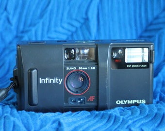 Olympus Infinity 35mm camera working