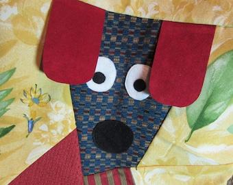 Whimsical  Wide Eyed Dog Tote Bag
