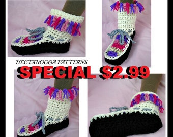 crochet slippers pattern, crochet pattern slippers, toddler, teen, adult, 2 yrs to adult XL, gift for him,her, kids, Unisex style, #2039