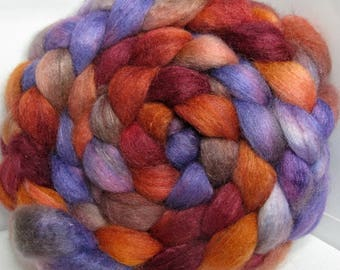 ReServe KaRIn BFL/Cashmere/Tussah 50/25/25 Roving Combed Top - 5oz - Clouds Racing 2