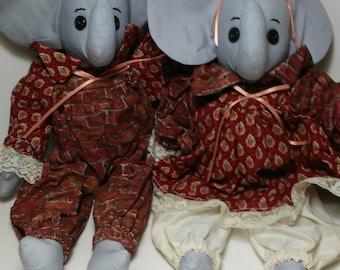 small ernie and elsie elephant