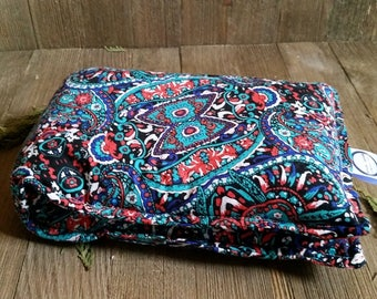 Aromatherapy Neck Pillow Flax Seed Organic Lavender Heating Herbal Therapy Wrap Microwave Heating Pad Black Blue Red Paisley Free Shipping