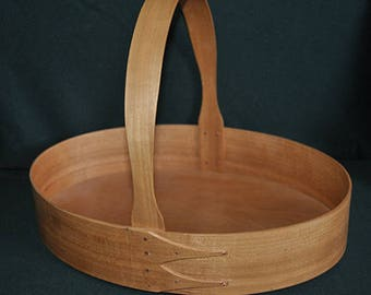 No. 8 Cherry Arched Fixed Handle Shaker Carrier