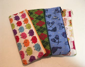 Knitting Themed Readers Pencil Cases