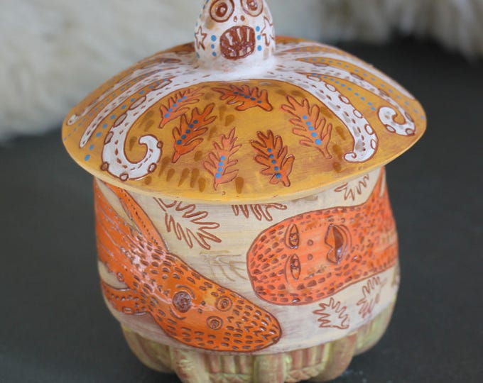 Octopus jar
