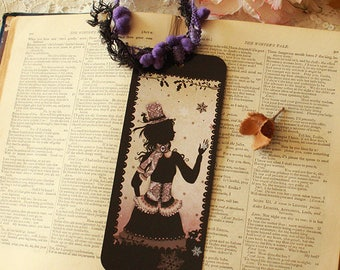 Bookmark featuring Miss Shadow - The Hat