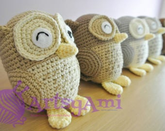 Handmade Crochet Amigurumi - Owl