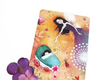 30% Off - Summer SALE 30 Percent Off - Summer SALE The Fairy Godmother - Postcard