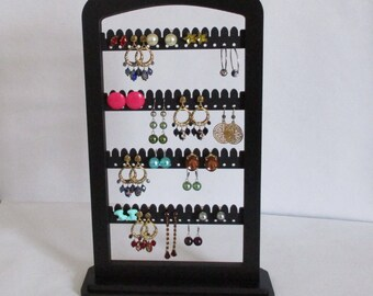 jewelry,  Earring Rack , Earring holder,  jewewlry storage ,  display ,  earring stand,  jewelty tree, TALL accessory display