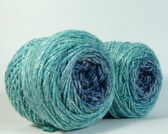 BIG SUMMER SALE Yarn of Letters - Jest 2ply Merino/Nylon Gradient Sockie Maki Set - Single Man Tear