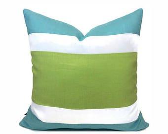 PILLOW SALE  / Color Block Pillow Covers In Belgian Linen