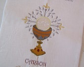 RESERVED Communion Banner Embroidered RESERVED