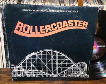 Rollercoaster Vintage Vinyl Motion Picture Soundtrack Record