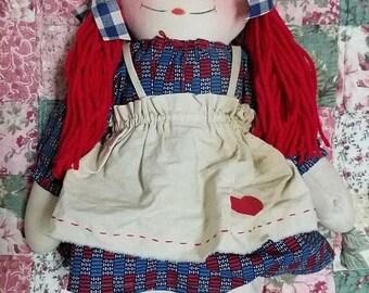super sale handmade raggedy Ann doll