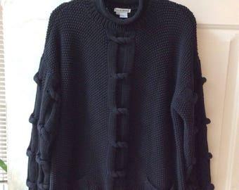 Heavy cotton sweater | Etsy