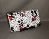 Mickey Mouse Wallet - DIVA Wallet - Clutch Wallet