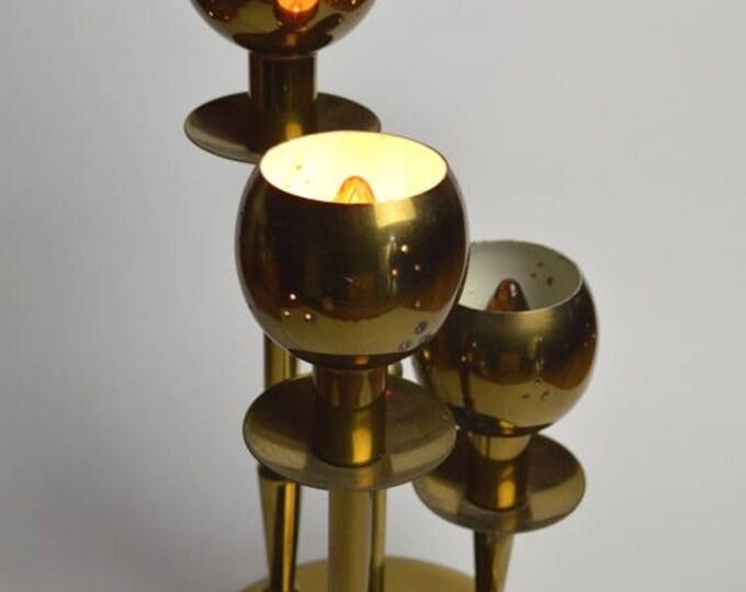 sale Brass Lamp, Art Deco Lamp,Table Top Lamp, Desk Lamp, 1940s Lamp, 40s Lamp, 40s Deco Lamp, Table Lamp,  Deco Lamp, Vintage Lamp
