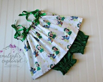 Lilo and stitch top and bloomers