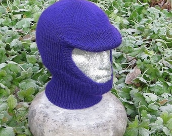 40% OFF SALE Instant Digital File pdf download knitting pattern -madmonkeyknits Soft Peak Balaclava and Beanie pdf knitting pattern