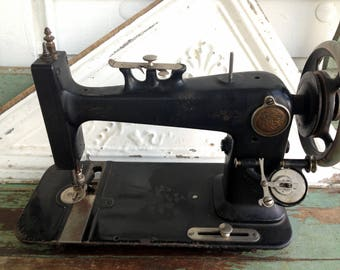 "Antique Vintage Sewing Machine Linington Manual 14 3/4"" X 6 3/4"""