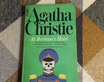 Vintage 1967 At Bertram's Hotel Agatha Christie Pocket Books