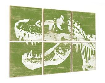 Tyrannosaurus - Dinosaur Party - Boys Dinosaur Bedroom - Kids Playroom Print - Playroom Art - Dinosaur Decor - Dinosaur Print - T Rex