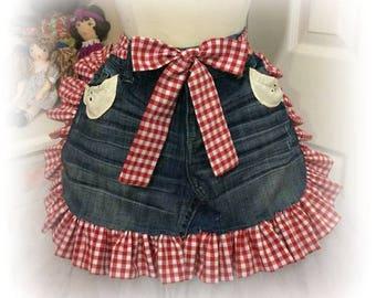 Daisy Duke's jeans apron