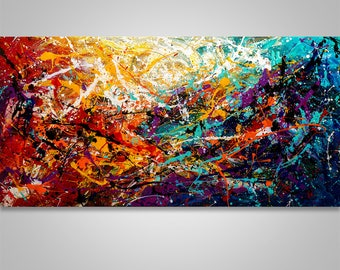 Abstract Painting, Palette Knife Painting, Abstract Wall Art, Home decor, Modern Art, Art, Acrylic, Wall Art, Canvas Art, Catalin Art