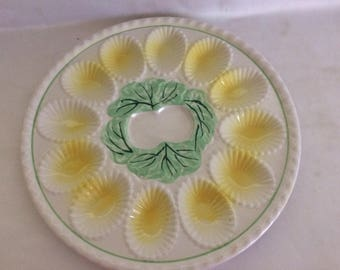 Vintage Deviled Egg Plate