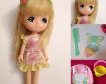 Vintage Japan Takara Licca Rare Strawberry Shortcake doll