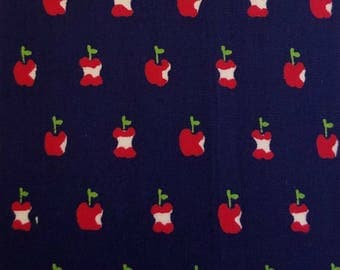 SALE - Alexander Henry - Apple a Day in Navy
