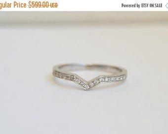 SALE Diamond Wedding Band, Eternity Ring, White Gold Ring, Eternity Diamond Band, Wedding Band, Wedding Ring, Wedding Ring Fits Engagement R