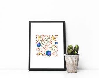 Berry Delicious Print