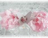 Seam Binding Crinkle Ribbon~Pink Pearl~5 Yards, Scrapbooking, Cardmaking, Tag Art, Sewing, Gift Wrap
