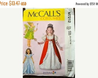 Princess Sewing Pattern Costume Girls Sizes  3-8-Uncut Pattern--Gorgeous -- 40-70% off Patterns n Books SALE