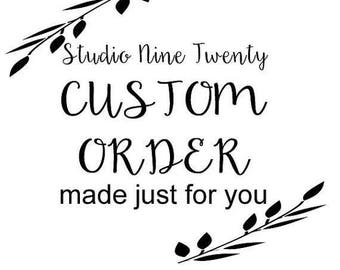 CUSTOM ORDER for Melissa M || over the door sign || Had we but world enough and time... ||