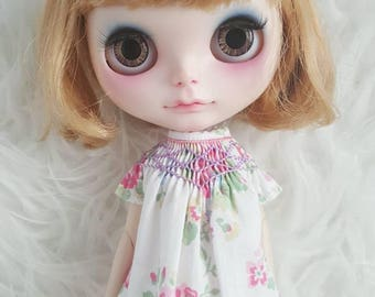 Smock Bishop dress for neo Blythe