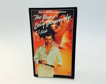 Vintage Book The Year of Living Dangerously by C.J. Koch 1983 Movie Tie-In UK Edition Paperback