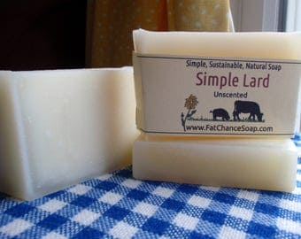 Simple Lard Soap