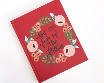 Without fear | Large Hardcover Journal