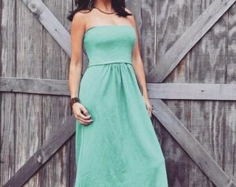 The Island Dress - hemp organic cotton