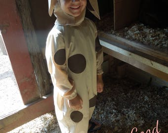 Dog Costume in Cotton for Infant, Toddler & Child