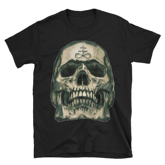 Leviathan Cross Skull Short-Sleeve Unisex T-Shirt