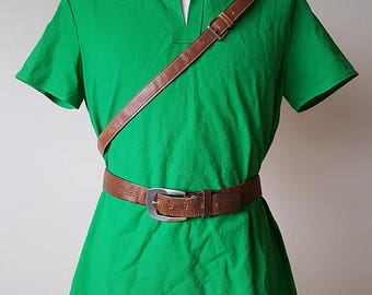 Ocarina of Time Link tunic from Ocarina of Time and Majora's Mask in Green + Hat